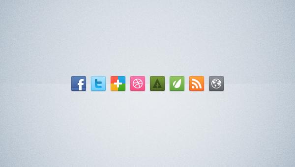 Iconos gratis PSD