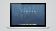 Vectorized Apple Retina MacBook Pro