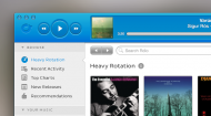Rdio OS X Music App Mockup